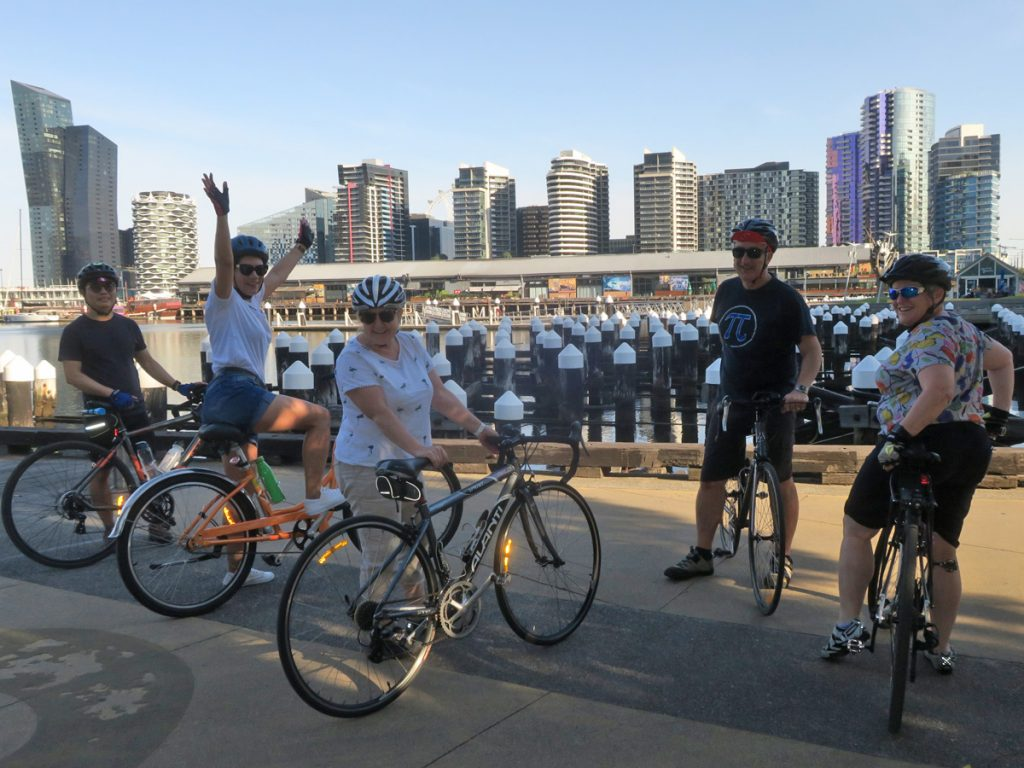 Southbank Neighbourly Ride at Docklands