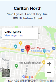 Neighbourly Ride - Carlton North -MAP