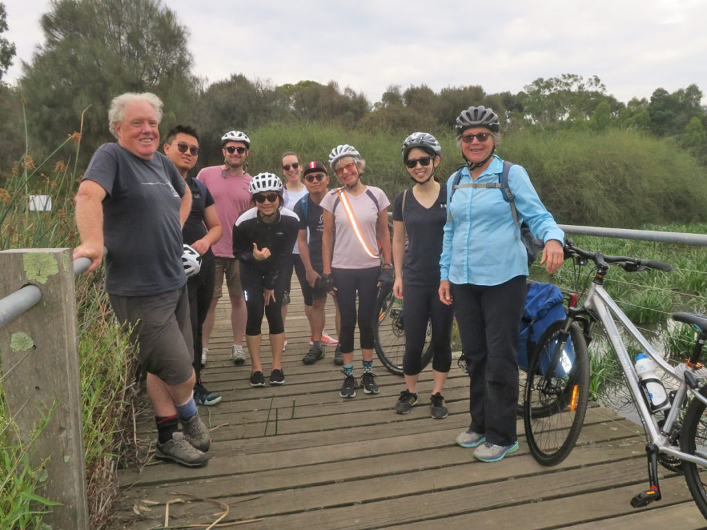 Neighbourly Ride - Royal Park Wetlands - sharing experiences
